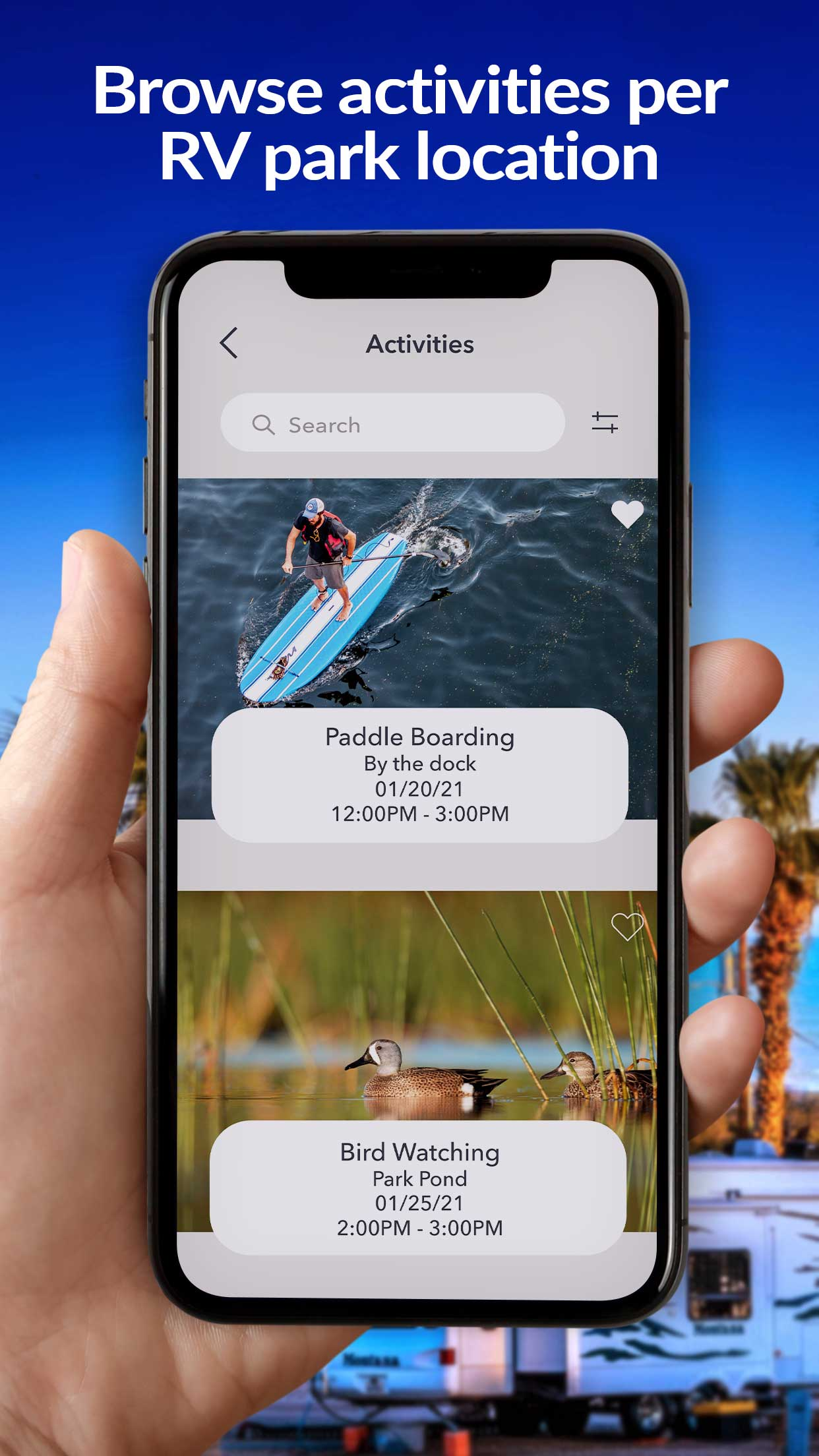 rv-app-iphone5-activities
